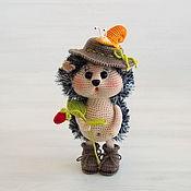 Куклы и игрушки handmade. Livemaster - original item Knitted interior toy with a snail. Handmade.