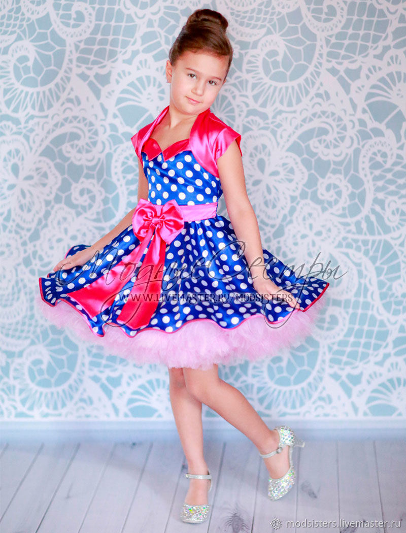 """Детское платье """"Стиляги"""" Арт.491"""