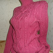 Одежда handmade. Livemaster - original item warm sweater fantasy of kos. Handmade.