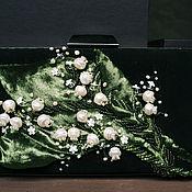 """Классическая сумка ручной работы. Ярмарка Мастеров - ручная работа Сумочка """"Ландыши"""". Handmade."""
