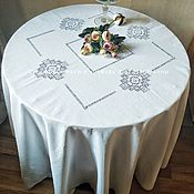 Для дома и интерьера handmade. Livemaster - original item Tablecloth d. .220 4 Cubans ( napkins optional). Handmade.