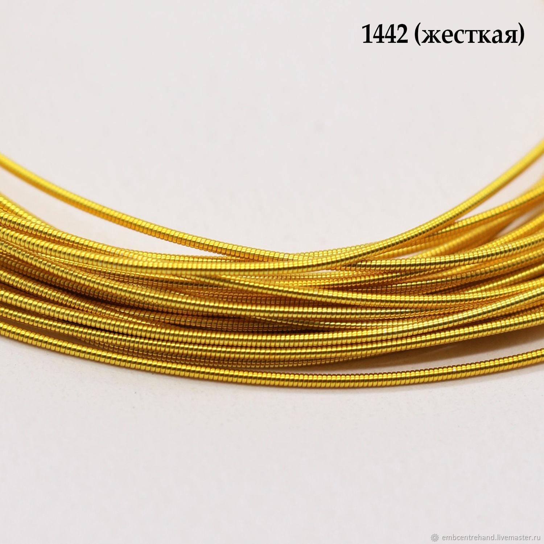 Канитель жесткая 1 мм, 5 гр, Материалы, Москва, Фото №1