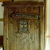 Для дома и интерьера ручной работы. Ярмарка Мастеров - ручная работа Дверь дубовая. Handmade.