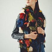 Аксессуары handmade. Livemaster - original item Raccoon fur scarf. Handmade.