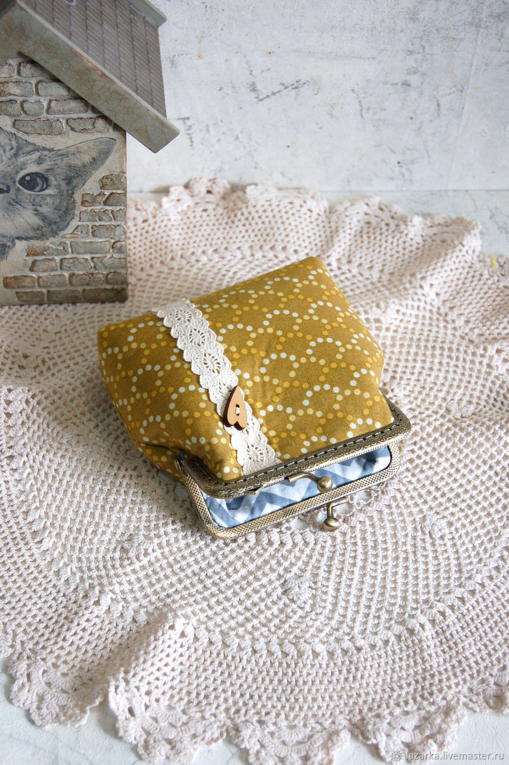 Coin purse with clasp, Coin boxes, Vladimir,  Фото №1