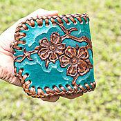Сумки и аксессуары handmade. Livemaster - original item Women`s wallet leather. Handmade.