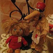 Куклы и игрушки ручной работы. Ярмарка Мастеров - ручная работа Домовенок Кузя из мультфильма игрушка. Handmade.