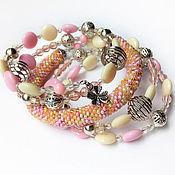 Украшения handmade. Livemaster - original item Bracelet-spring