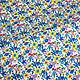 Шитье ручной работы. Штапель яркие цветы на белом BT 9035154 Цена за метр. Ткани Fashion Fabric (fashion-fabric). Интернет-магазин Ярмарка Мастеров.