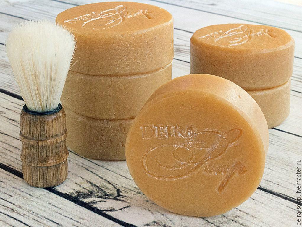 Мыло для бритья кусковое Анис и Мята