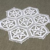 Для дома и интерьера handmade. Livemaster - original item Napkin white. Handmade.