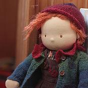 Вальдорфские куклы и звери ручной работы. Ярмарка Мастеров - ручная работа Гномик Сева 40 см. Вальдорфская кукла. Handmade.