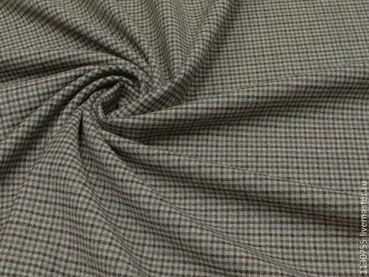 Шитье ручной работы. Ярмарка Мастеров - ручная работа. Купить ткань костюмная шерсть  стрейч Германия. Handmade. Комбинированный