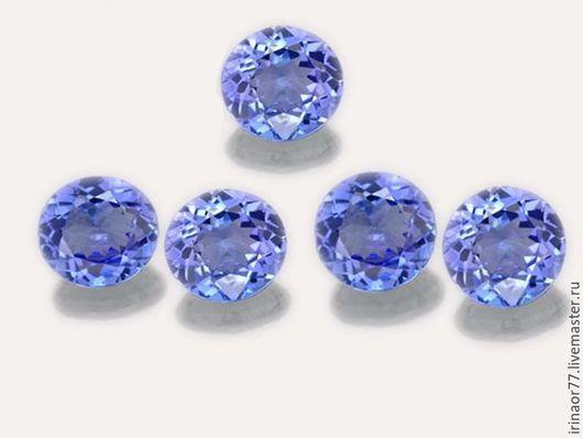 2.7mm -  (0.088) Cts Танзанит - 1шт.-150руб. COLOR     :  Purplish Blue CLARITY     :  Clean & Vs LUSTER     :  Superior TREATMENT :       Unheated HARDNE       :       6-7