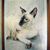 Картины и панно handmade. Livemaster - original item Pets photography. Handmade.