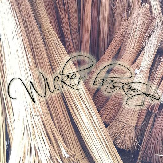 Другие виды рукоделия ручной работы. Ярмарка Мастеров - ручная работа. Купить Прут ивовый (лоза) для плетения 100-120 см., в пучках по 100 шт.. Handmade.