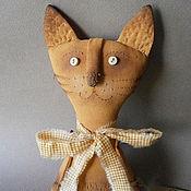Куклы и игрушки ручной работы. Ярмарка Мастеров - ручная работа Кот рыжий.. Handmade.