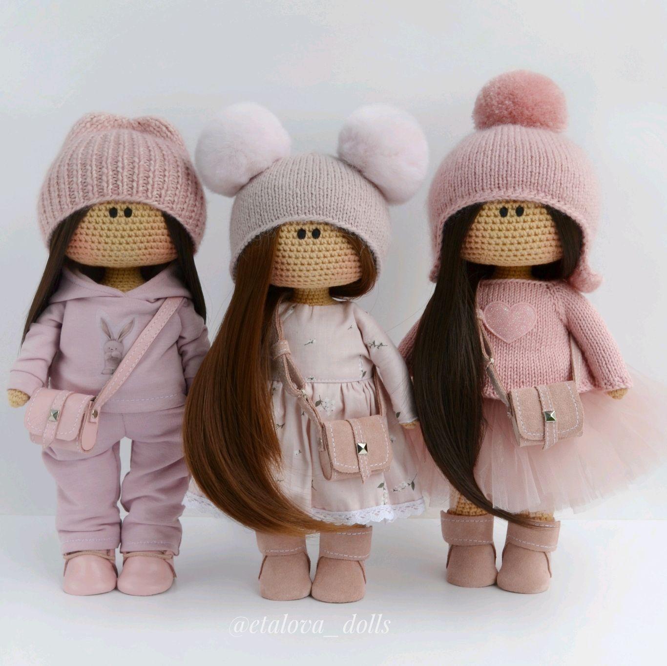 Кукла тильда. Вязаная интерьерная кукла, Куклы Тильда, Калязин,  Фото №1