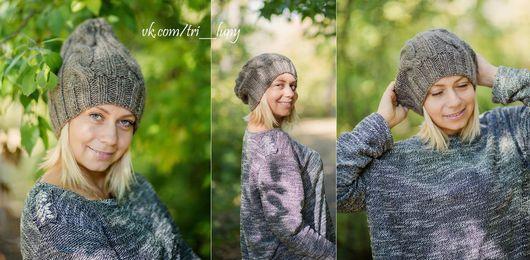 замечательная зимняя шапочка, связанная с любовью только для Вас
