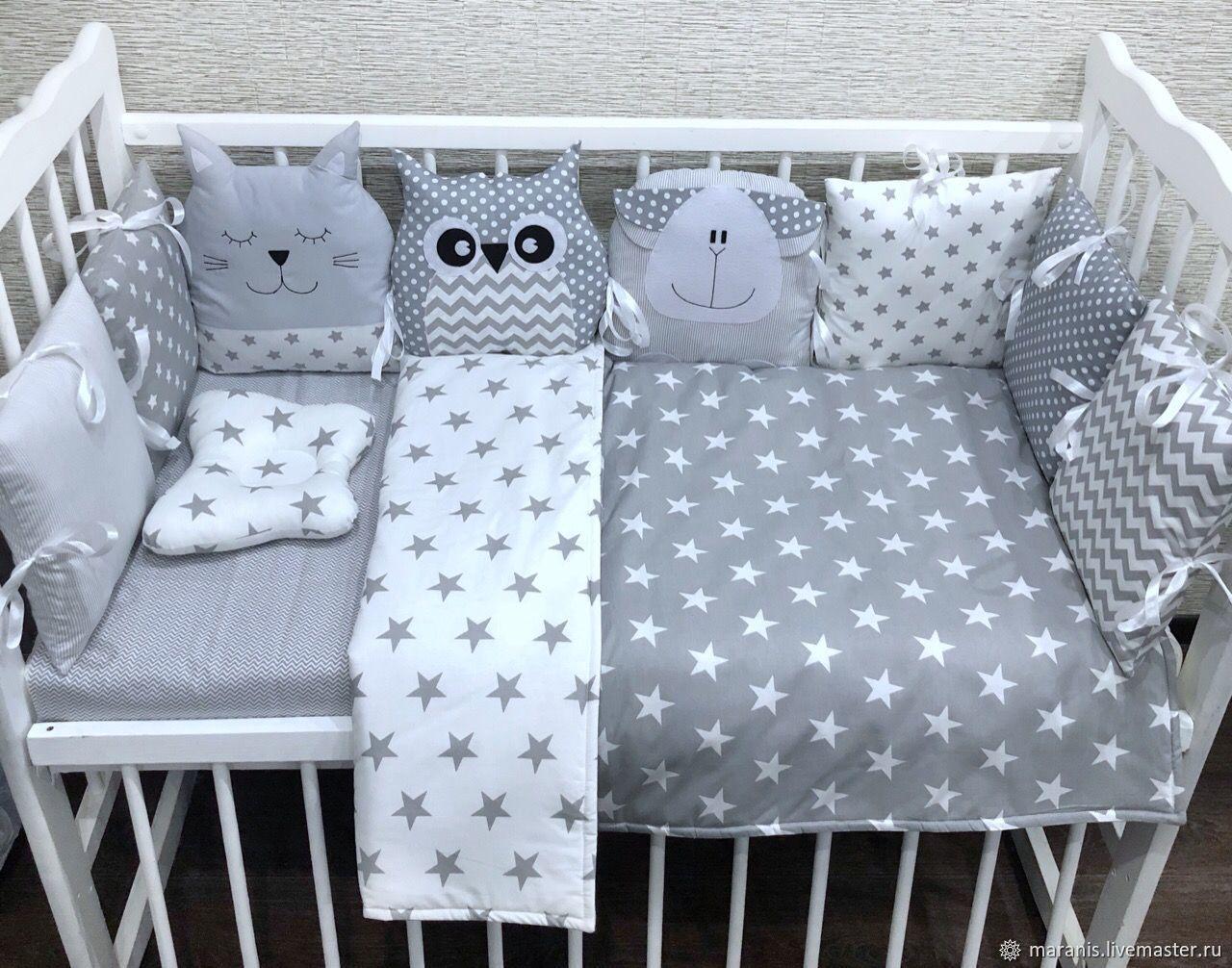 Бортики в кроватку для новорожденных от Маранис, Бортики в кроватку, Москва,  Фото №1
