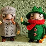 Куклы и игрушки ручной работы. Ярмарка Мастеров - ручная работа валяшки Колобки. Handmade.