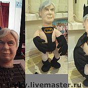 Подарки к праздникам ручной работы. Ярмарка Мастеров - ручная работа Портретная кукла - Бэтмен.... Handmade.