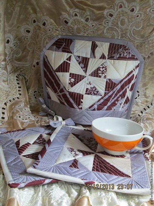 Текстиль, ковры ручной работы. Ярмарка Мастеров - ручная работа. Купить Набор для кухни. Handmade. Для кухни, кухонный интерьер