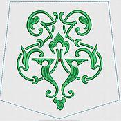 Материалы для творчества ручной работы. Ярмарка Мастеров - ручная работа дизайн для машинной вышивки. Handmade.