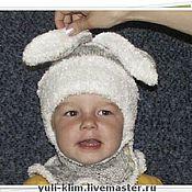 """Работы для детей, ручной работы. Ярмарка Мастеров - ручная работа детская шапочка """"ЗАЙКА"""". Handmade."""