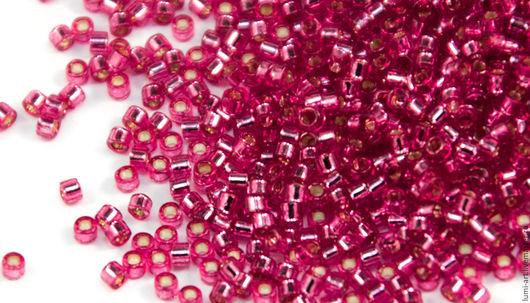 Для украшений ручной работы. Ярмарка Мастеров - ручная работа. Купить Delica DB-1341 Pink Rose SL Японский бисер Делика 5 гр. Handmade.