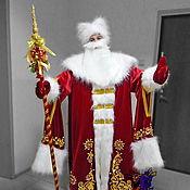 Одежда handmade. Livemaster - original item Father Frost. Animator-actor suit. Handmade.
