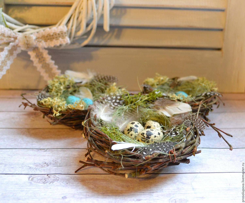 Nest easter shop online on livemaster with shipping egg easter gifts handmade order nest easter hobbyfantasy livemaster nest gift for negle Images