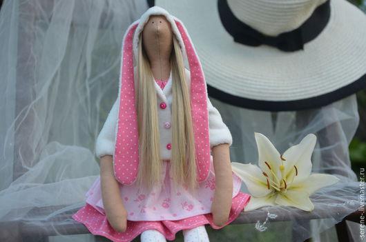Куклы Тильды ручной работы. Ярмарка Мастеров - ручная работа. Купить Кукла Зая. Handmade. Розовый, кукла, подарок сестре