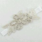 Свадебный салон handmade. Livemaster - original item Garter for bride. Wedding garter. Handmade.