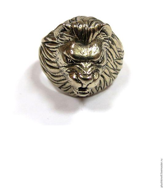 """Кольца ручной работы. Ярмарка Мастеров - ручная работа. Купить Кольцо """"Лев"""". Handmade. Кольцо, кольцо ручной работы"""