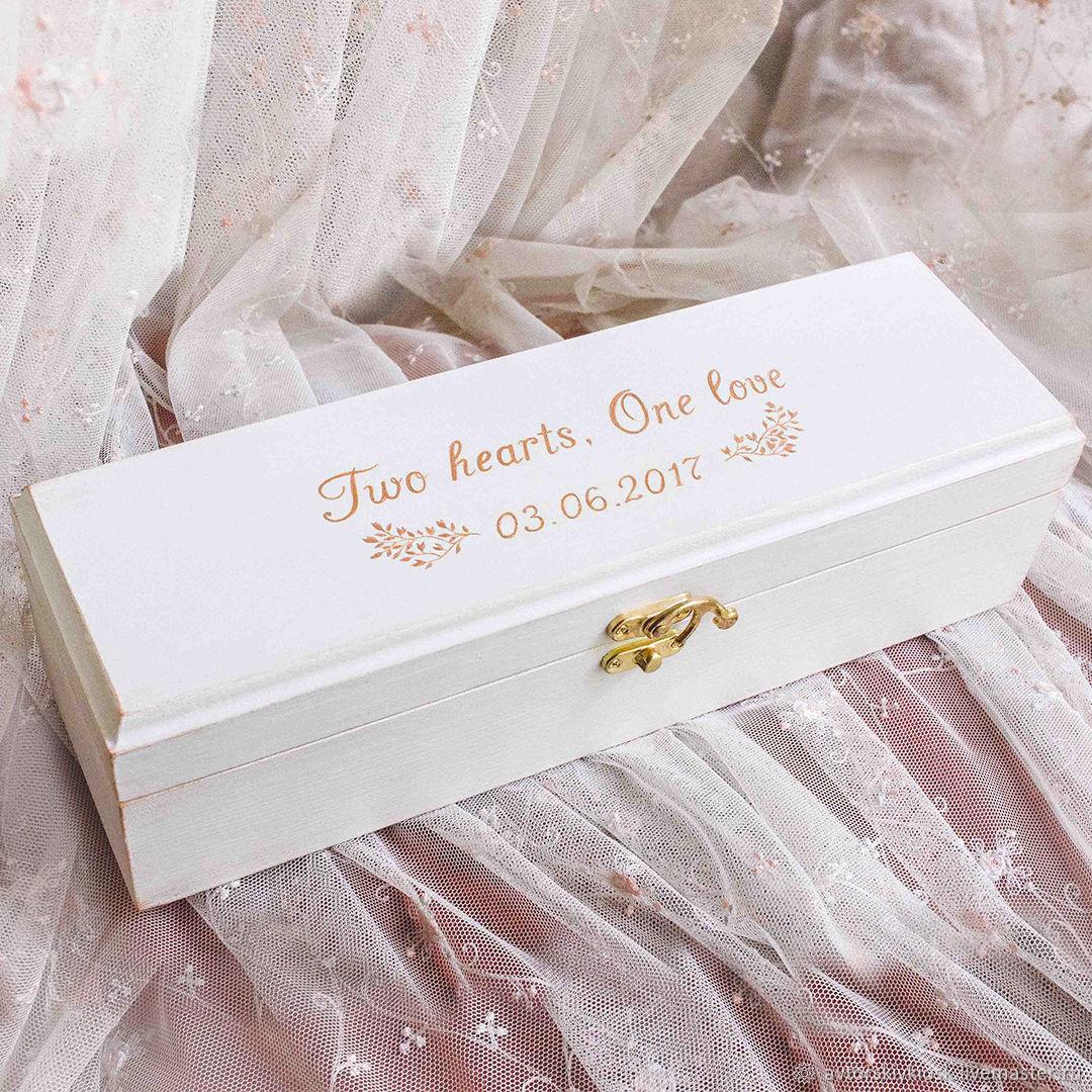 Ящик, короб для вина из дерева с любой надписью, Бутылки, Москва,  Фото №1