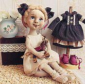 Куклы и игрушки ручной работы. Ярмарка Мастеров - ручная работа куколка текстильна. Handmade.