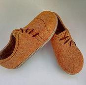 Обувь ручной работы. Ярмарка Мастеров - ручная работа туфли женские рыжик. Handmade.