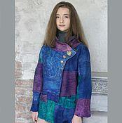 """Одежда ручной работы. Ярмарка Мастеров - ручная работа Куртка """"Фрагменты"""". Handmade."""