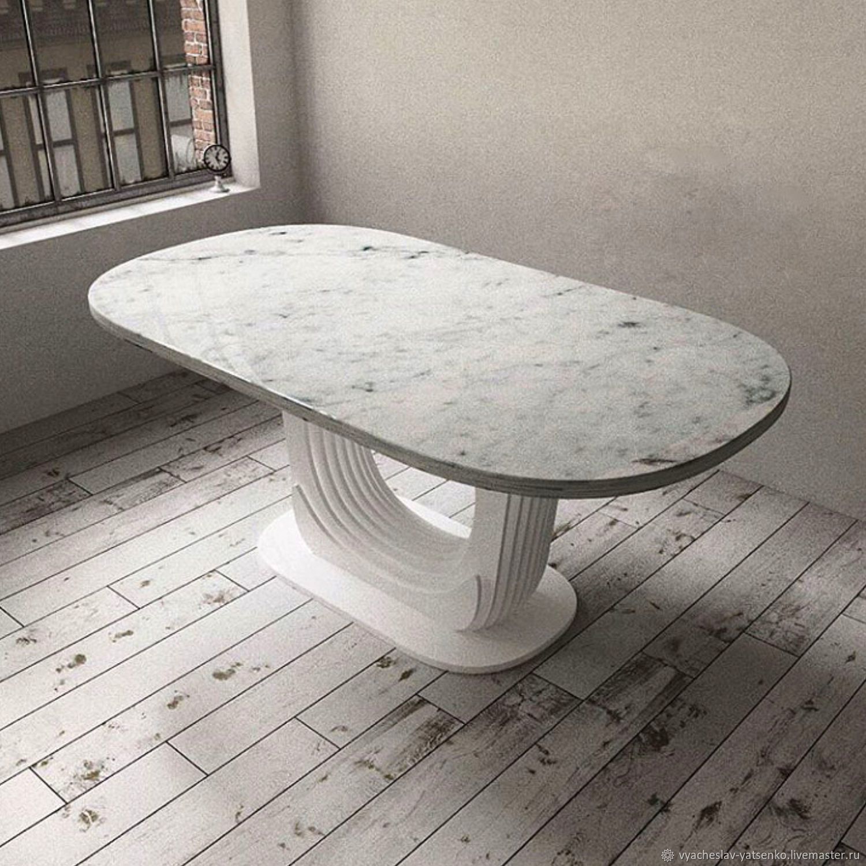 Стол из искусственного камня. Стол лофт, Дизайн, Екатеринбург, Фото №1