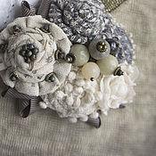 Украшения handmade. Livemaster - original item Brooch delicate. Handmade.