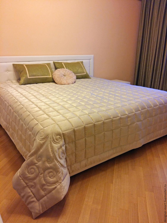 Плед на двуспальную кровать своими руками 12