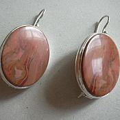 Украшения handmade. Livemaster - original item Elegant earrings JASPER beads,silver.. Handmade.