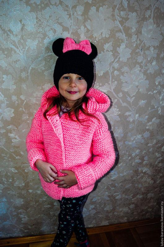 """Одежда для девочек, ручной работы. Ярмарка Мастеров - ручная работа. Купить Комплект """"Зефирка"""". Handmade. Розовый, шапочка минни"""