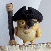 Куклы и игрушки ручной работы. Ярмарка Мастеров - ручная работа Пират Канарейка Билли. Handmade.