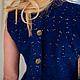 Платья ручной работы. Платье/ платье из вышитого хлопка. Ксения (bu Anatole). Ярмарка Мастеров. Скидки, однотонный, платье стильное
