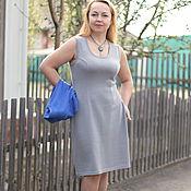 "Одежда handmade. Livemaster - original item Knitted dress ""Summer - base-3"". Handmade."