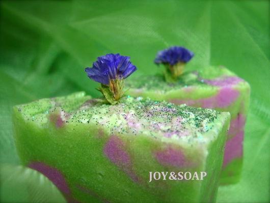 Мыло Joysoap ЛЕСНАЯ НИМФА. Натуральное мыло с тонким цветочно-лесным ароматом