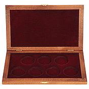 Сувениры и подарки handmade. Livemaster - original item Box for collectible coins. Handmade.