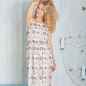 """Одежда ручной работы. Ярмарка Мастеров - ручная работа """"Люция"""" - летнее платье из шифона Valentino. Handmade."""